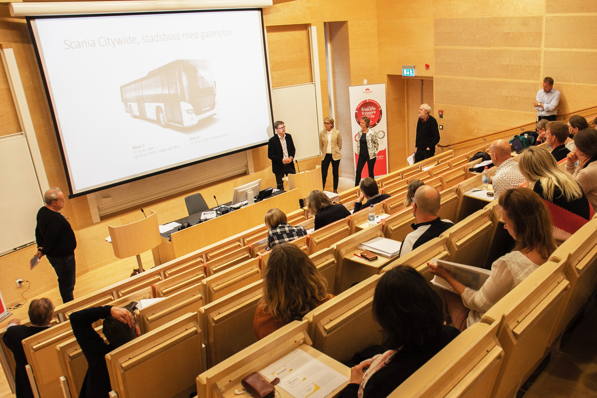 Discussion about biogas in Kalmar