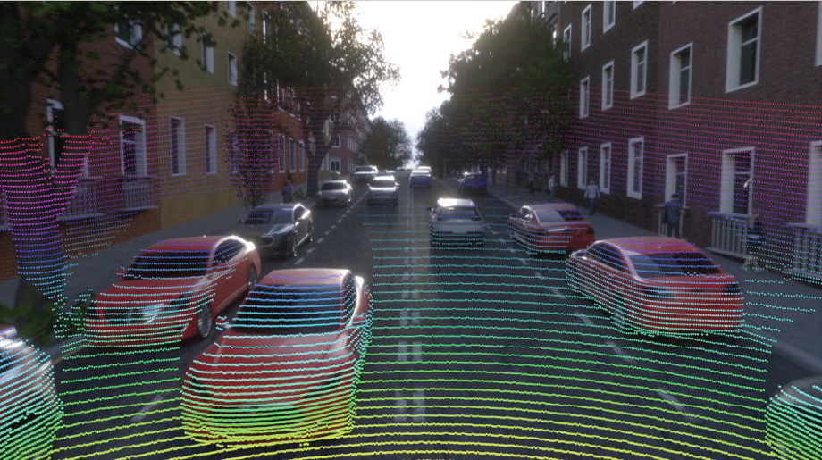 Training ground for autonomous cars