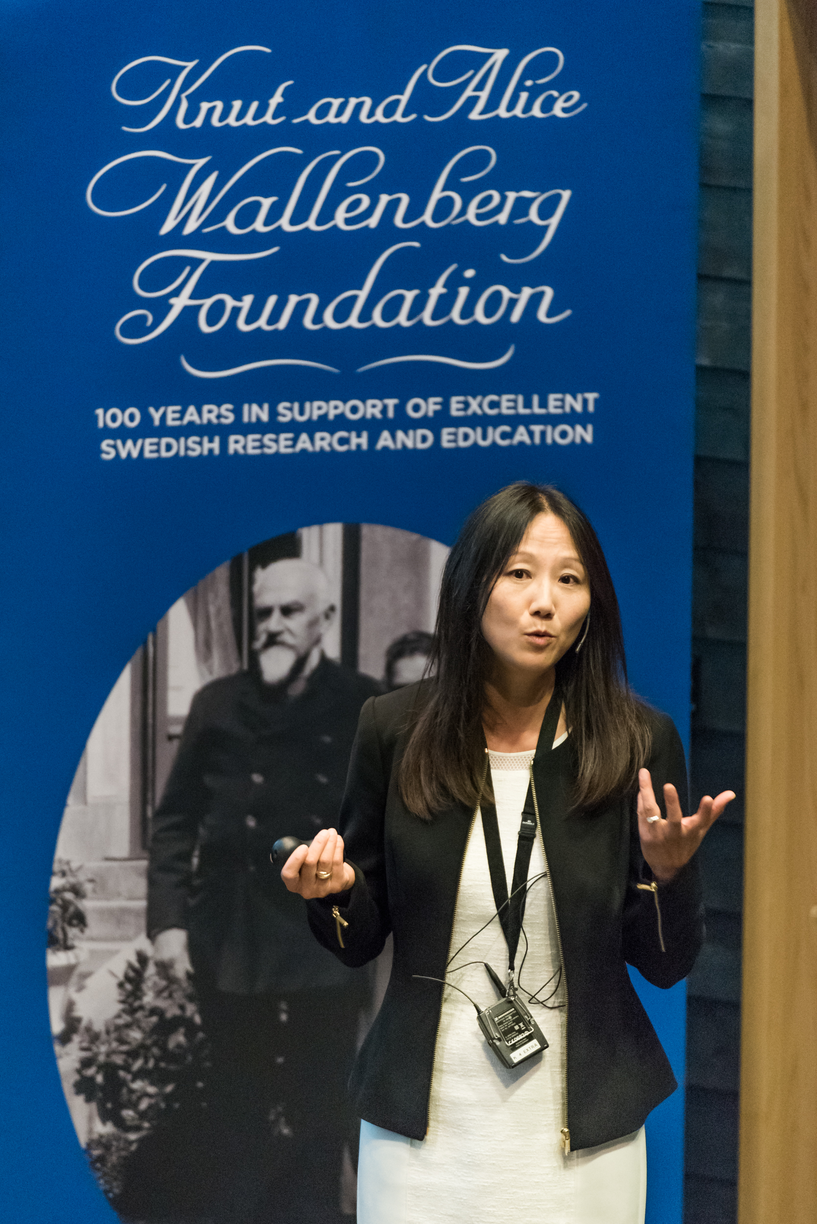 Zhenan Bao, professor Stanford University