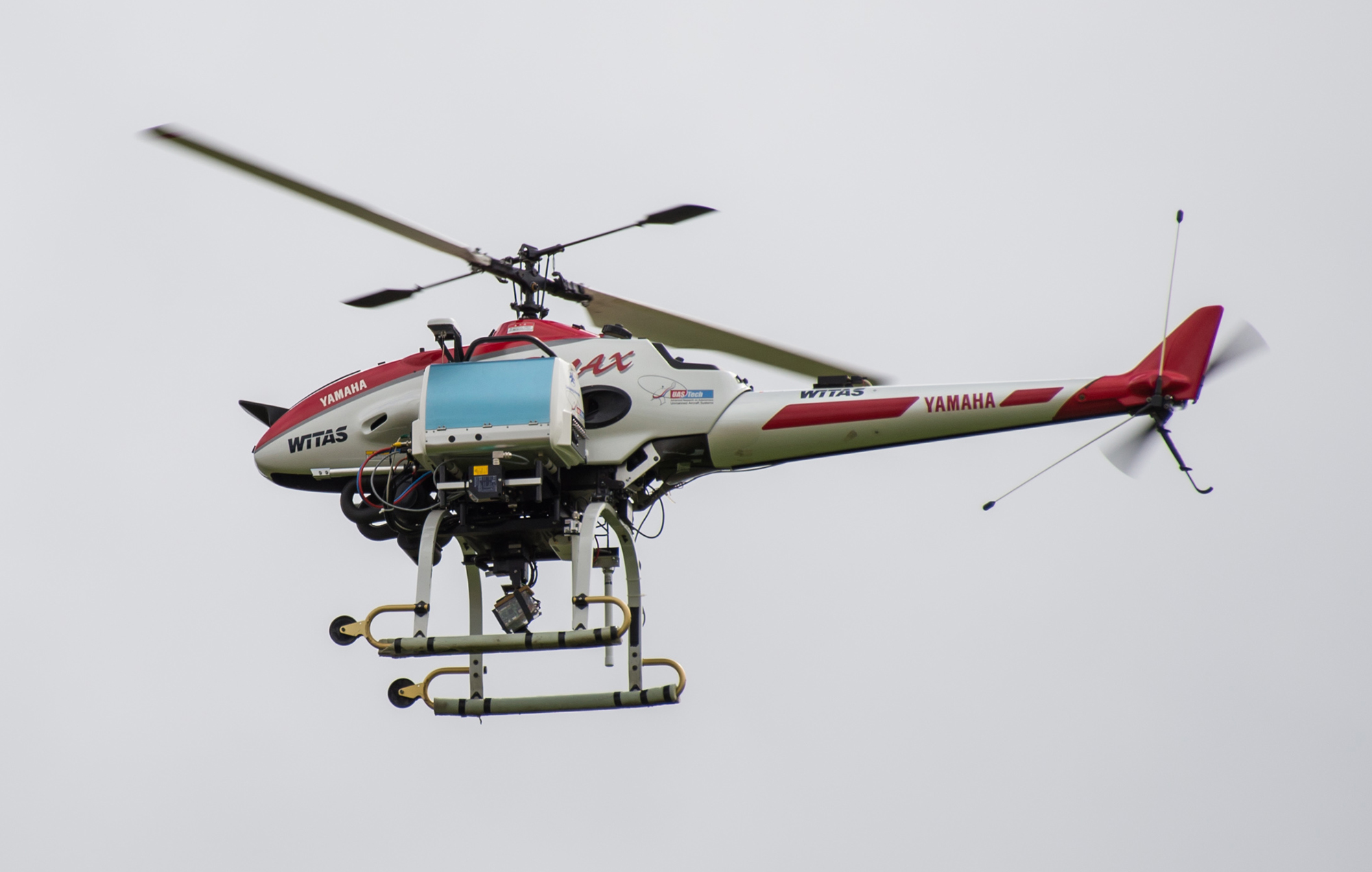 Unmanned helicopter RMAX