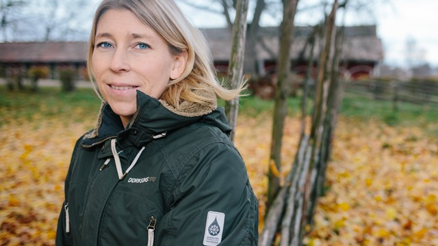 Anna Eklöf in nature