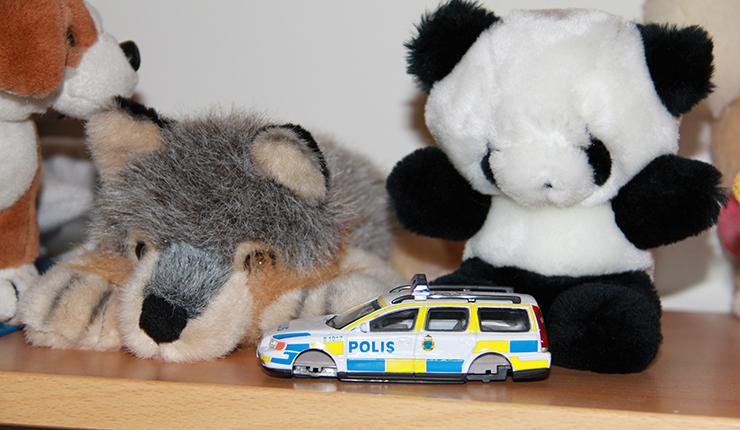 Ulf olsson vallades av polisen