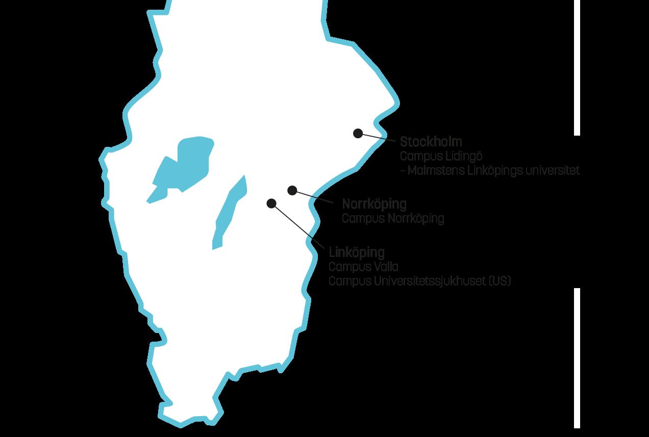 Karta Over Postnummer Sverige.Campus Us Linkopings Universitet