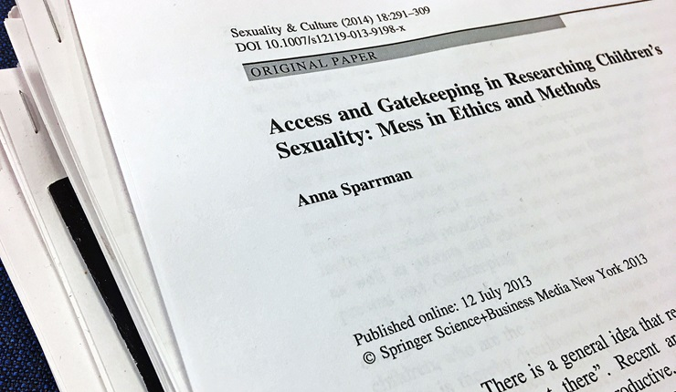 Research article by Anna sparrman