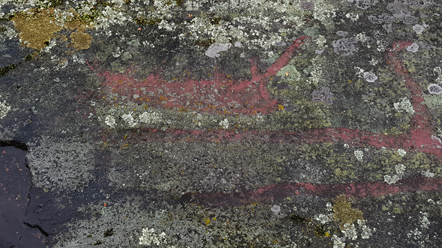Rock carvings: technology and temporality, the lithic and lichen
