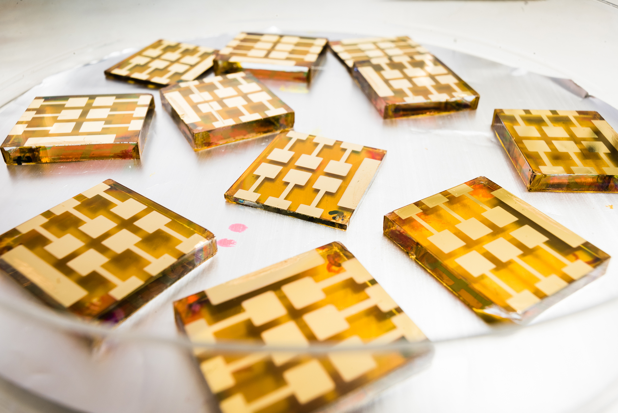 Solar cells in led-free double perovskites