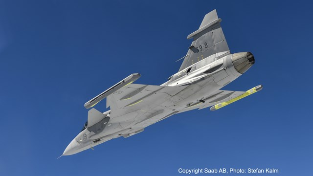 Aerial Vehicles LINK-SIC JAS 39 GRIPEN