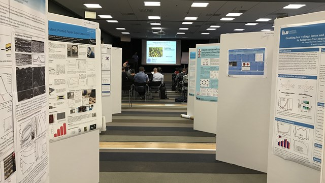 Ett 70-tal posters presenterades under AFM 2018