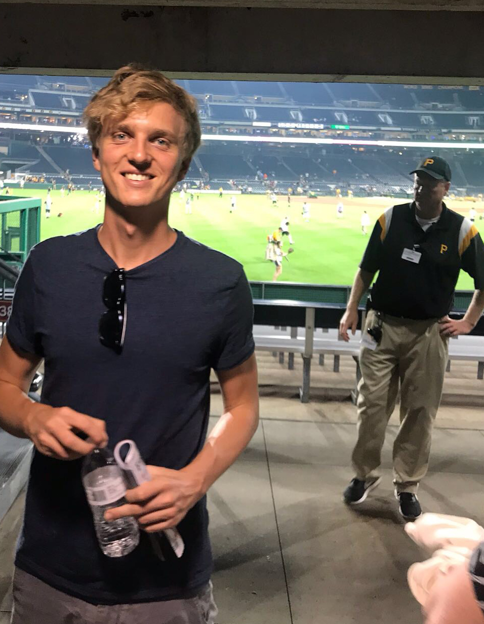 Simon Lindblad på roadtrip i USA