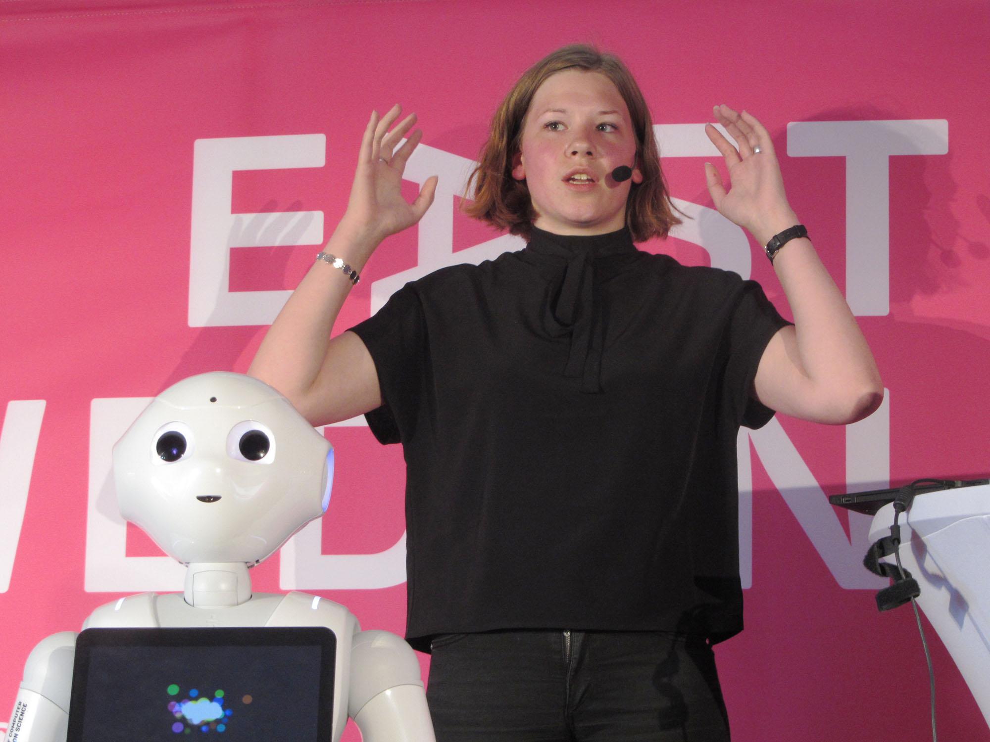 Robotkänslor i Almedalen - Linköpings universitet f517ddff78829