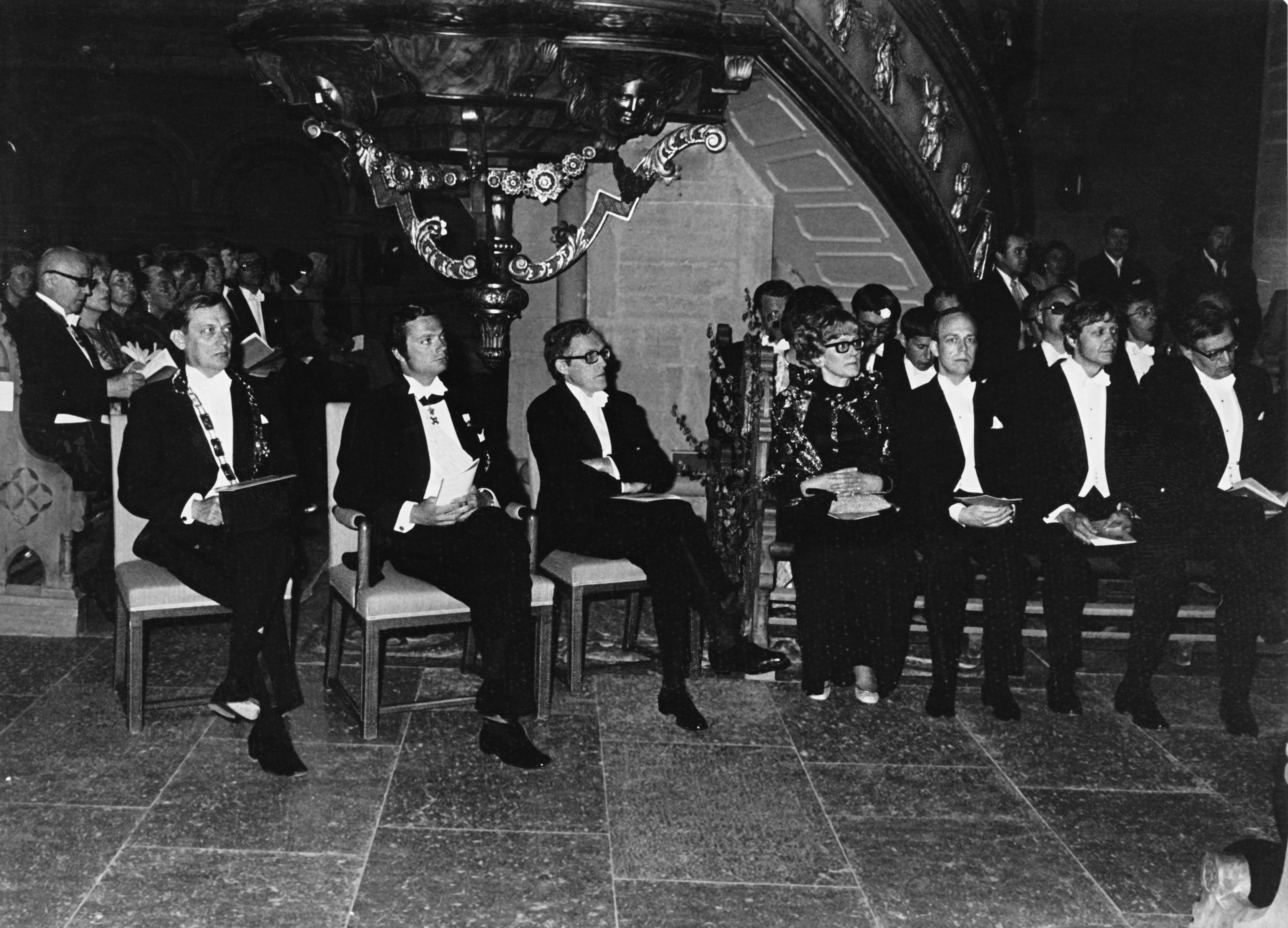 Promotion at Linköping University 1975