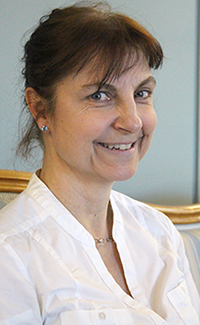 Christina Hörnell, director musices