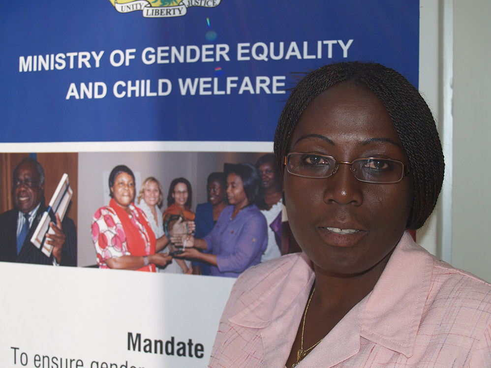 Brigitte Nshimyimana, Ministry of Gender Equality and Child Welfare in Namibia
