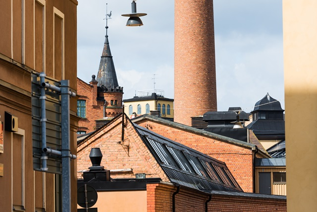 Industrial heritage in Norrköping