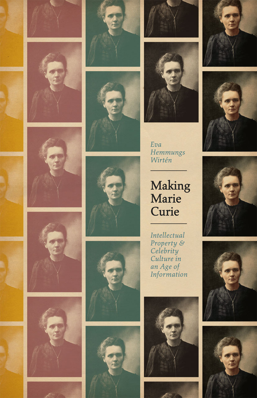 Cover of book Making Marie Curie