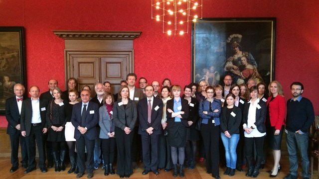 The SATORI Consortium at the kick-off meeting in Amsterdam