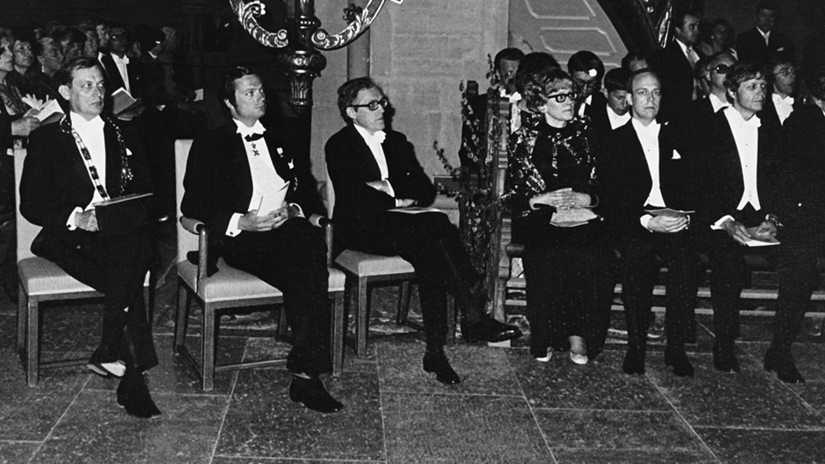 Promotion 1975 vid Linköpings universitet