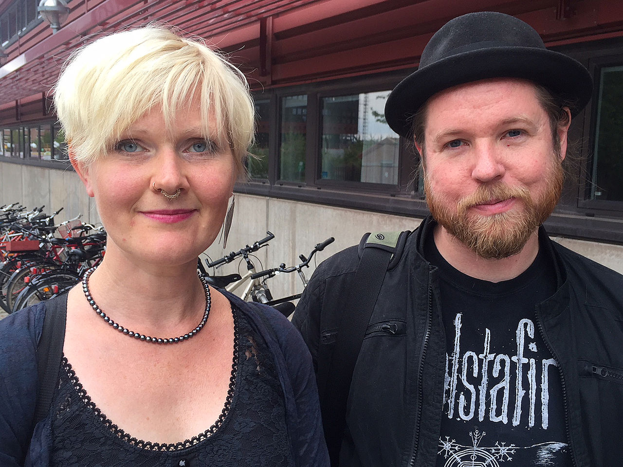 Anna-Carin Fagerlind-Ståhl and Christian Ståhl, LiU, 2018