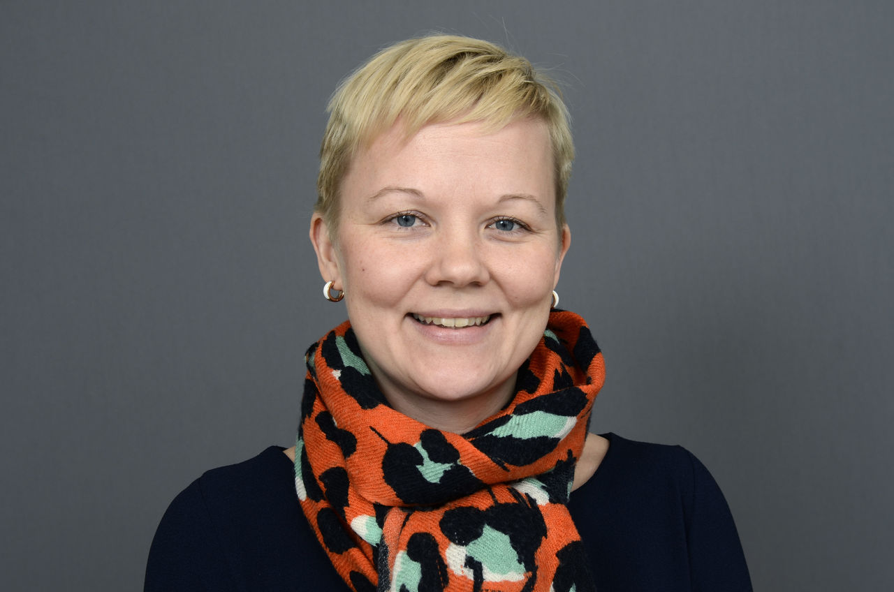 Emma Närvä is one of the participants in the course SEGRID 2018