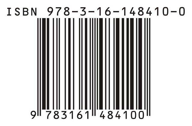 Image of ISBN bar code