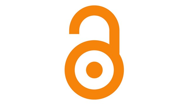 Picture of the open access symbol, an open padlock.