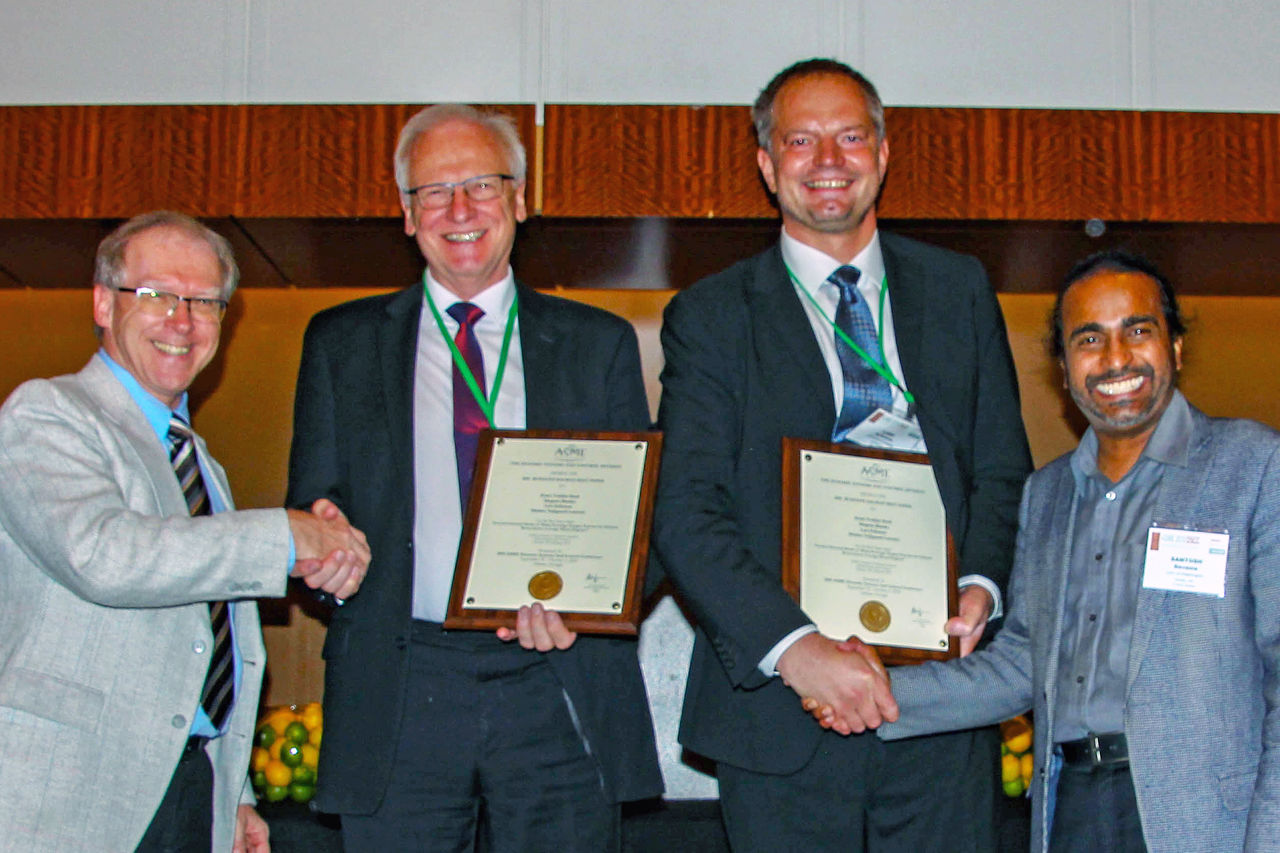 Professor Lars Eriksson of the Division of Vehicular Systems at Linköping University has received an award at the 2018 Dynamic Systems and Control Conference in Atlanta, USA.
