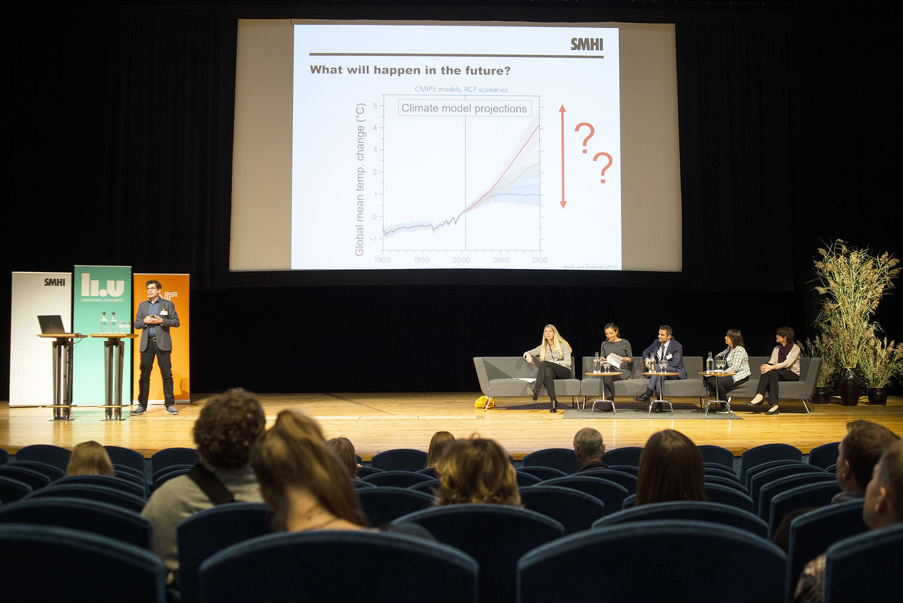Samverkan i fokus på konferens om klimatanpassning - Linköpings universitet