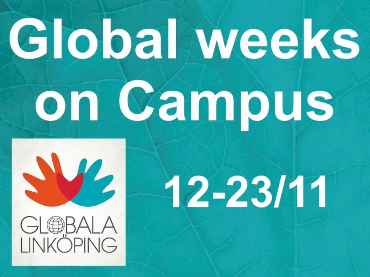 Global weeks on Campus