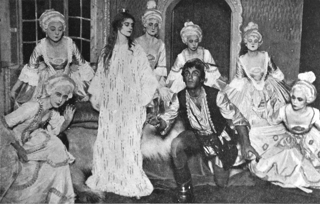 Group of actors in the play
