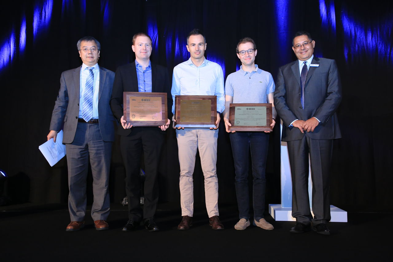 Award ceremony IEEE Marconi Prize Paper Award in Wireless Communications
