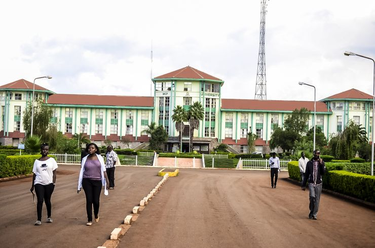 Moi University, administration buildning.
