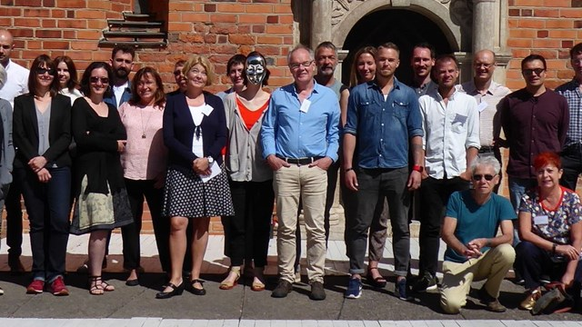 Participants on the Imposter Conference