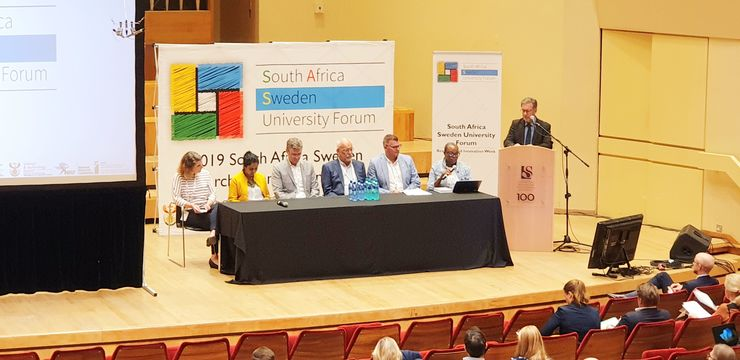 Collaboration with South Africa to focus on global issues