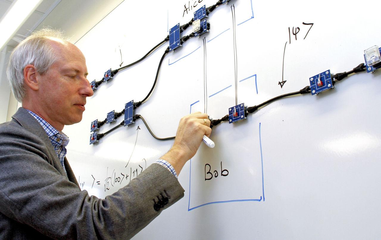 Professor Jan-Åke Larsson vid avdelningen för informationskodning, ICG, vid institutionen för systemteknik.
