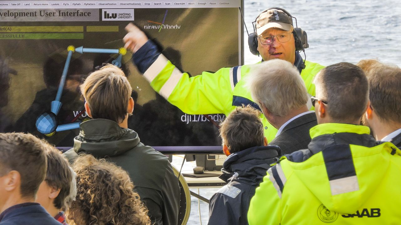 Jens-Olof Lindh describes the rescue mission