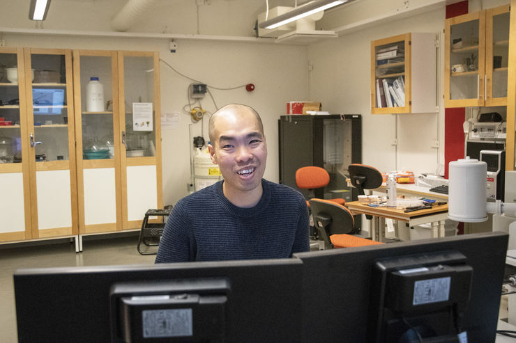 Dunyong Deng, researcher in Engineering Materials.