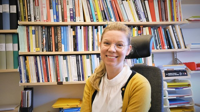 Ida Lindgren, researcher at LiU.