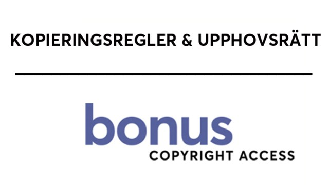 Bonus Copyright Access Logotype.