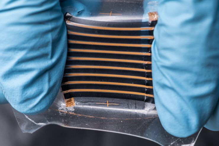 A stretchable thermoelectric generator