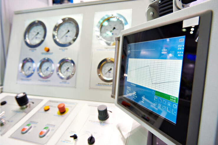 Sensors monitor industrial production systems