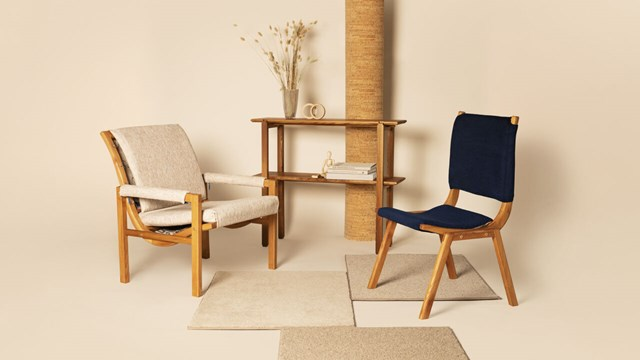 Tobias Flodströms master thesis, two redesigned armchairs