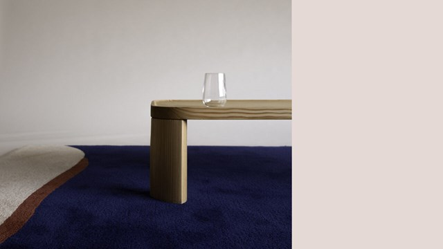 Moa Sjöbergs master thesis in furniture design 2020