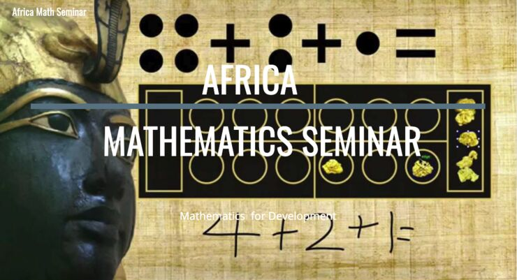 Logo for the seminar series in mathematics.
