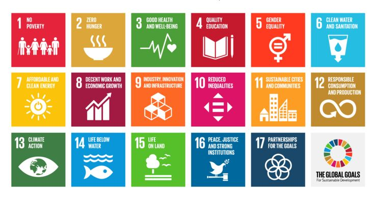 The global goals for sustainable development - grid