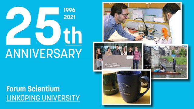 mix of pictures Forum Scientium 25th anniversary.