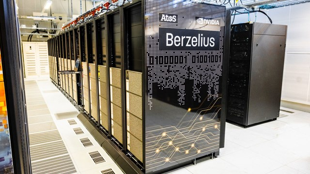 The supercomputer Berzelius.